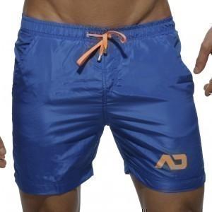short de bain swim long bleu menderwear