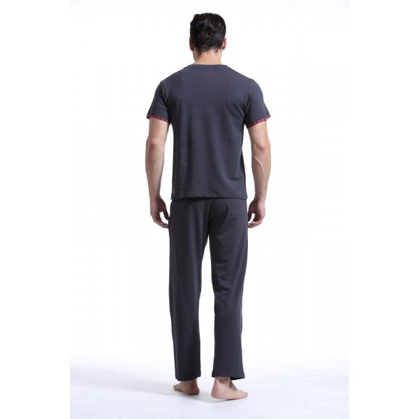 Wang Jiang T-Shirt Lounge Gris